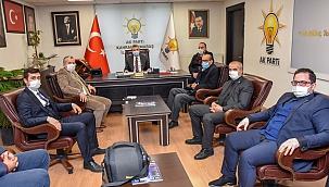Yardımcıoğlu'ndan Başkan Fırat Görgel'e Ziyaret!..