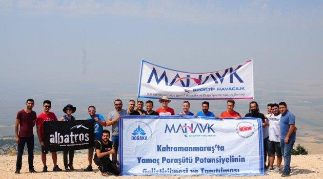 Kahramanmaraş'ta Yamaç Paraşütü Potansiyelinin Geliştirilmesi ve Tanıtılması Projesi Başladı