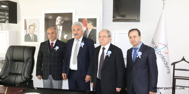 Vergi Dairesinden Pazarcık Belediyesine Ziyaret