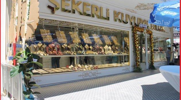 ŞEKERLİ KUYUMCULUK AÇILDI!!