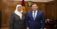 Kahramanmaraş Milletvekili Öçal Kırgızistan Meclis Başkanı Cumabekov ile Görüştü